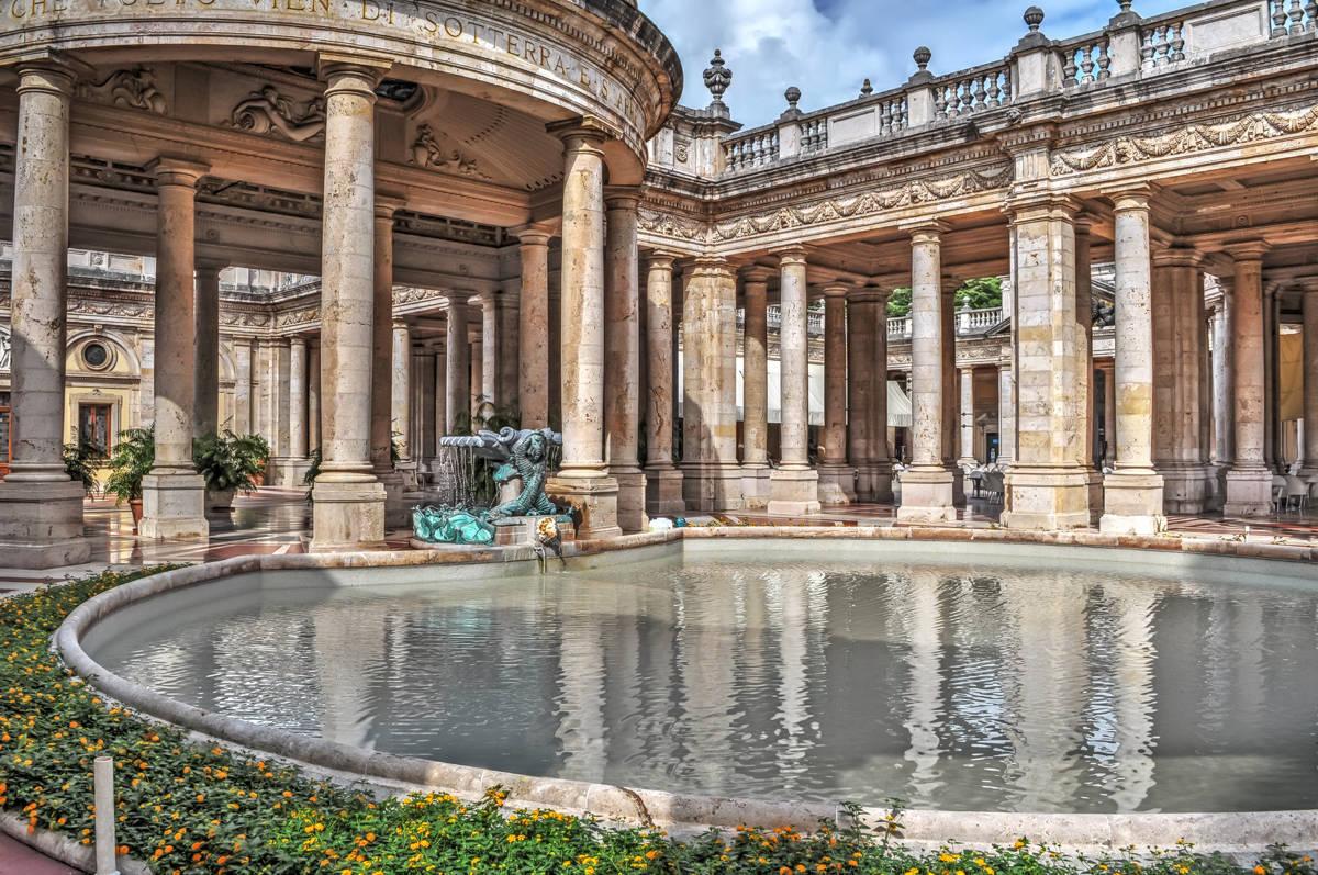 Thermal baths Montecatini