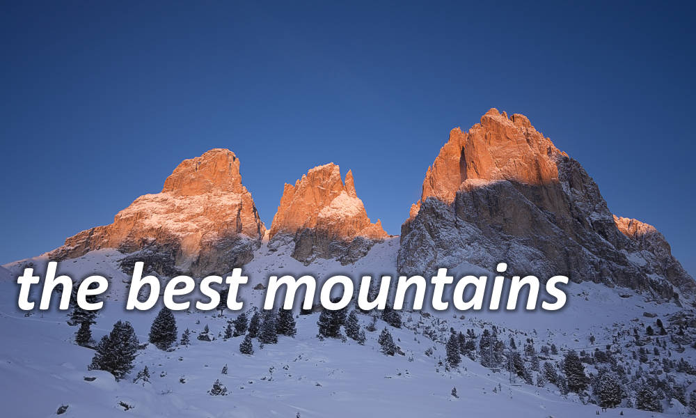 the best mountains