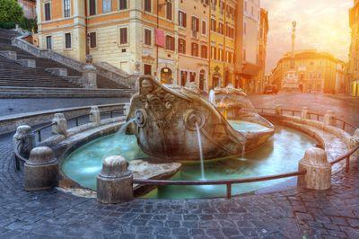 Fontana della Barcaccia