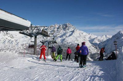 Ski area Chiesa in Valmalenco