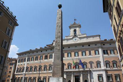 Obelisco piazza Montecitorio