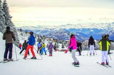 Monte Bondone - Trento ski area